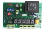 Control board RJ 44, incl. IP box, 230V, simple analogue setting for 1/2motors (wing gates)