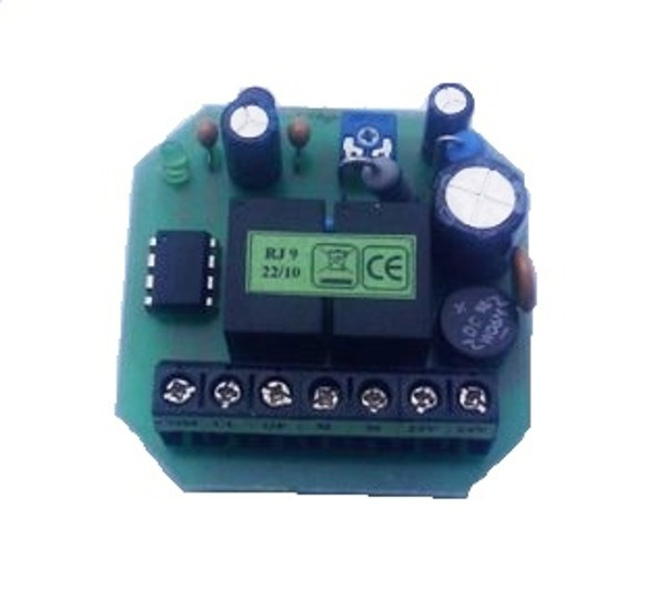 Control board RJ 9, 24V without transformer, for 1motor (window)